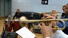 The trumpets of Son Yambu