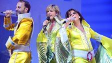 Mamma Mia gala performance: Radio 2's Penny Smith joins the cast
