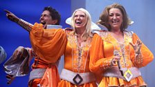 Mamma Mia gala performance: Anneka Rice does her bit for Pudsey