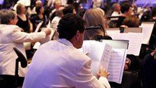 The BBC Philharmonic prepare