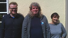 Huw Stephens, David R. Edwards a Patricia Morgan