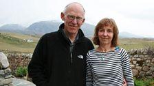 John & Lorna at home in Uig