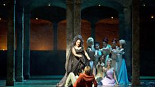Mandy Fredrich as The Queen of the Night and Julia Kleiter (Pamina)