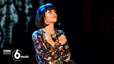 Bat For Lashes at 6 Music Live