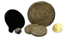 Some objects in the British Museum's collection re Elizabethan mathematician, astrologer & magician John Dee