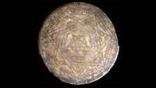 A large wax disc known as the 'Seal of God' (Sigillum Dei)