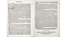Proclamation from 23 June 1603