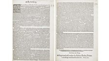 Proclamation from 18 October 1603