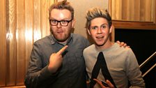 Huw and Niall co-host