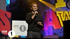 Aled at Radio 1's Teen Awards