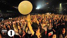 Audience at Radio 1's Teen Awards