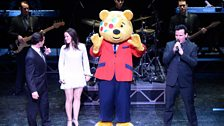 Pudsey's got his red jacket too!