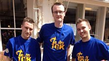 The Kiln Park team tackle the Tenby 10k