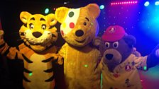 Pudsey makes some new friends!