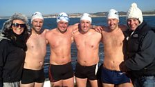 Devon Cliffs Holiday Park team swam the channel for Pudsey!