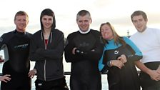 Perran and Riviere Sands Team ran a Triathlon for Pudsey!
