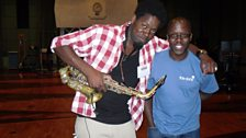 Soweto Kinch And Robert Mitchell At Maida Vale