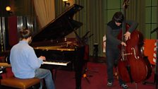 Kit Downes Trio In Session At Maida Vale