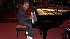 Lonnie Liston Smith In Session At Maida Vale