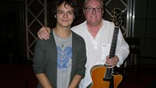 Jamie Cullum And Martin Taylor At Maida Vale