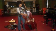 Esperanza Spalding In Session At Maida Vale