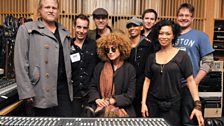 Melody Gardot In Session At Maida Vale