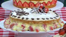 Episode 9 - Patisserie - Danny's technical challenge Fraisier cake