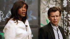 Parker Jason Sawyers as Deshawna and Kyrre Hellum as Geir 'Elvis' Tvedt