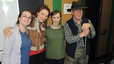 Catriona Lexy Chaimbeul, Ariel Killick, Beth Frieden agus Rick Rennie