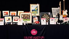 The items in the Silent Auction