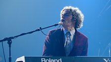 Toploader lead singer Joseph Washbourn