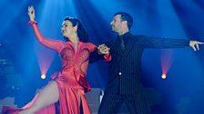 Strictly's Lilia Kopylova and Darren Bennett