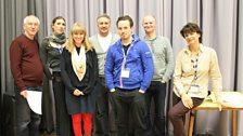 Malcolm Raeburn, Valerie Cutcko, Sophie Wooley, Terrence Mann, Henry Devas, Conrad Nelson and director Susan Roberts