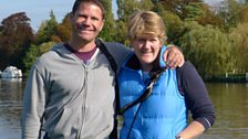 Clare Balding and Steve Backshall