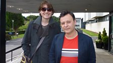 Nicky Wire and James Dean Bradfield