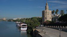 Seville and the Rio Guadalquivir