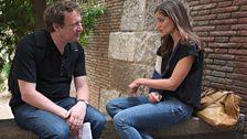 Misha Glenny and Carolina Valladares