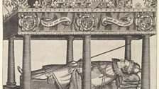 The Hearse of Henry, Prince of Wales by William Hole, 1612