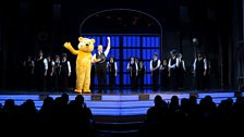 Pudsey takes to the stage