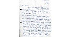 Personal correspondence, part 1