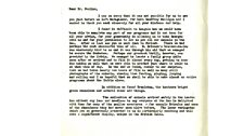 Thank you letter from David Attenborough, part 1