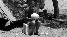 David Attenborough and the giant egg, 1960