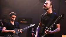 Muse's Matt Bellamy and Chris Wolstenholme