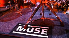 The Radio Theatre stage gets a Muse makeover