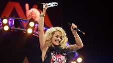Rita Ora wins Best Newcomer
