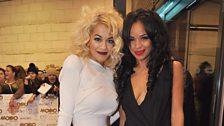 Best Newcomer, Rita Ora and SJ