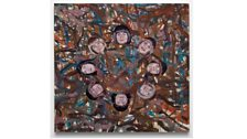 Jim Shaw - Untitled(Faces in circle)