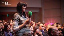 Audience member