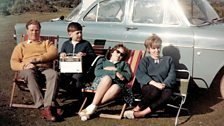 On holiday in North Wales in 1962 listening with my dad and sisters. Our Radio has always been part of our family!