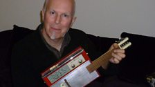 My self-made Guitar Radio. I've always had a great attachment for radio, listening under the covers at night to Radio Luxembourg